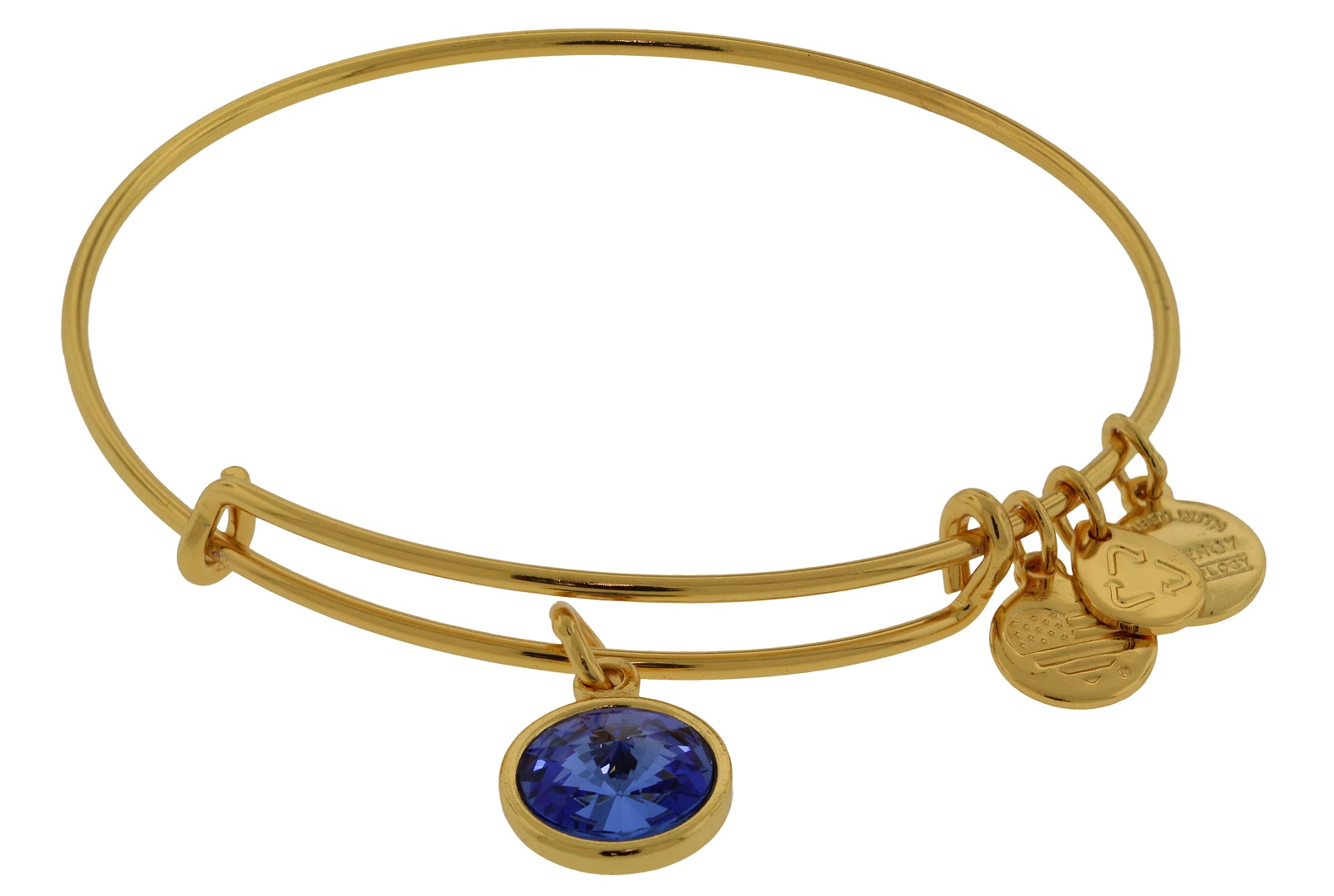 Alex and Ani September Birthstone Charm Bangle Bracelet A09EB248G by Alex and Ani