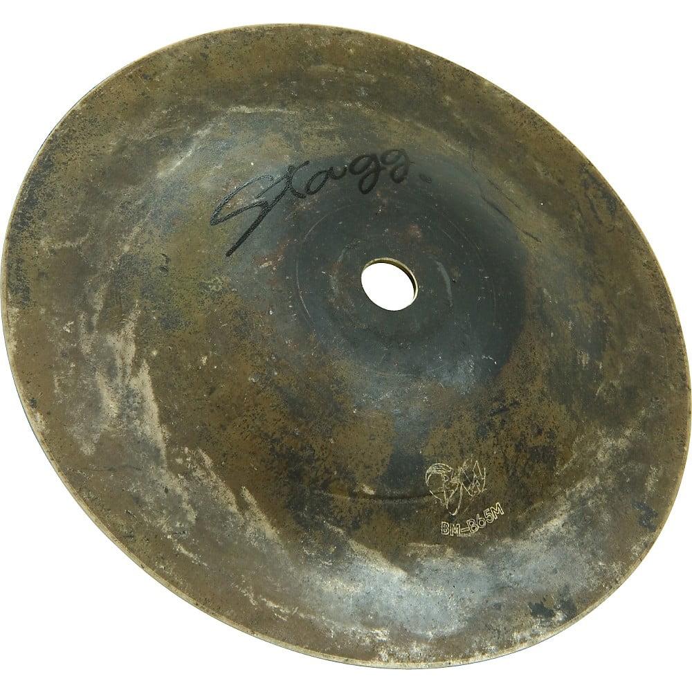 Stagg Black Metal Bell 6.5 in. Medium