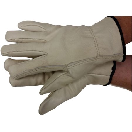 Skin Driver (Premium Cowhide Driver w/ Thermal Lining Gloves (Sold by PAIR) Size X-Large)