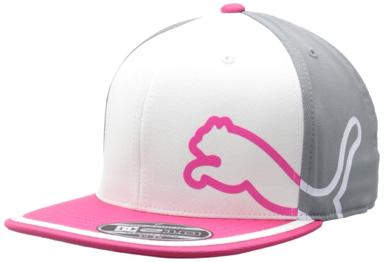 1ce8538e372 ... new arrivals puma monoline 3 color 110 stretch snapback golf hat  walmart b976b 8a2de