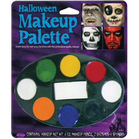Halloween Makeup Tray with 8 Colors (Halloween Makeup Fail)