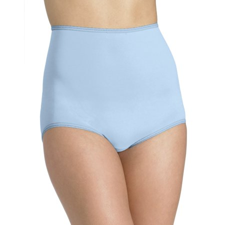 Bali Skimp Skamp Women`s Brief Panty - Best-Seller, 10, Blue