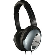 Maxell Noise Cancellation Headphones - Stereo - Black, Gray - Mini-phone - Wired - 60 Ohm - 10 Hz 28 kHz - Nickel Plated - Over-the-head - Binaural - Ear-cup - 6 ft Cable - Yes