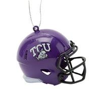 TCU Horned Frogs Team Helmet Ornament