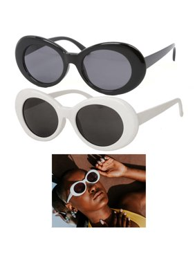 0846e51dc5 Product Image 1 White Black Clout Goggles Glasses Vintage Classic Kurt  Cobain Sunglass Oval