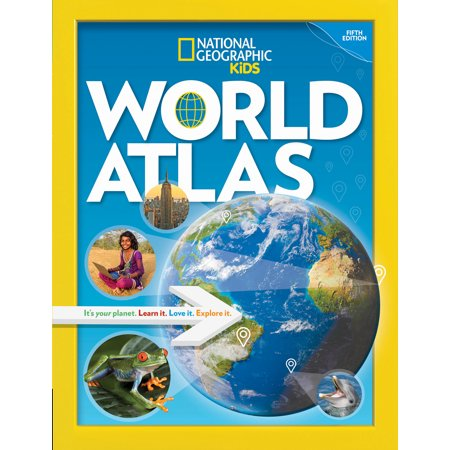 National Geographic Kids World Atlas, 5th Edition (Evolutionary Analysis 5th Edition End Of Chapter Questions)
