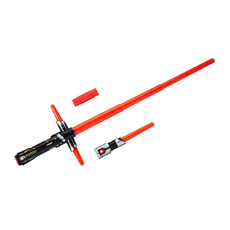 Star Wars: The Last Jedi Bladebuilders Kylo Ren Electronic Lightsaber - Double Sided Light Saber