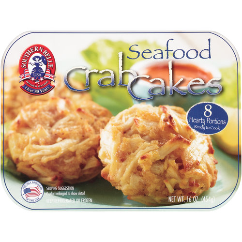Southern Belle Seafood Crab Cakes, 16 oz