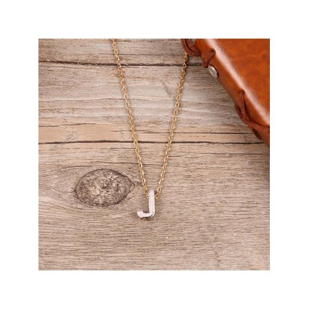 Fashion Personality Letter J Pendant Necklace Clavicle Chain Jewelry T2PC - image 7 of 8