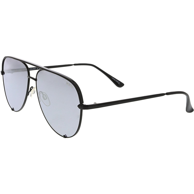 New Women Sunglasses Quay Australia QC-000142 High Key BLK//FADE 63