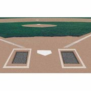 Markers Inc Rubber Batters Box Foundation, 2 Pairs