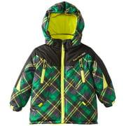 Rugged Bear Baby Boys Plaid Colorblock Checked Snow Ski Winter Jacket
