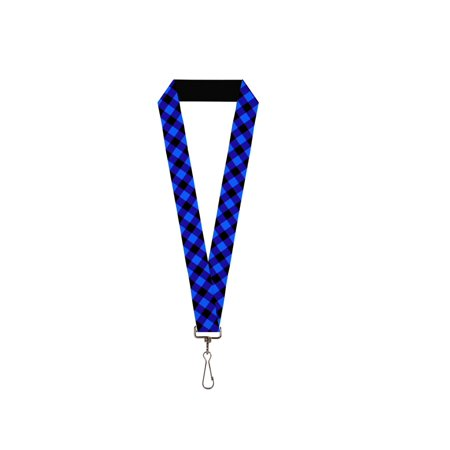 Blue And White Checkered Flag (Black and Royal Blue Diamond Checkered Flag Plaid Checkers)