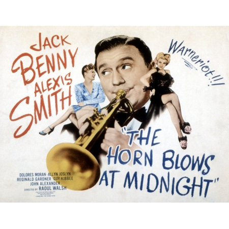 The Horn Blows At Midnight Alexis Smith Jack Benny Dolores Moran 1945 Movie Poster Masterprint