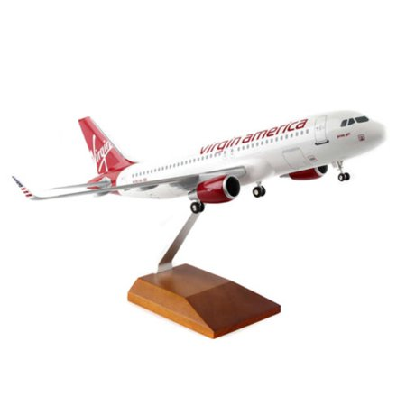 Skymarks Virgin America Airbus A320 Model Airplane