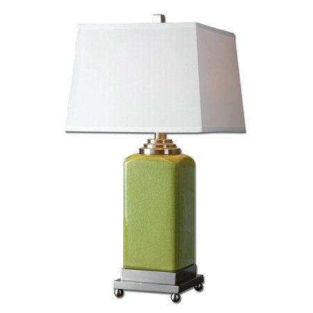 2975 modern chartreuse green ceramic table lamp with square 2975 modern chartreuse green ceramic table lamp with square hardback shade mozeypictures Choice Image
