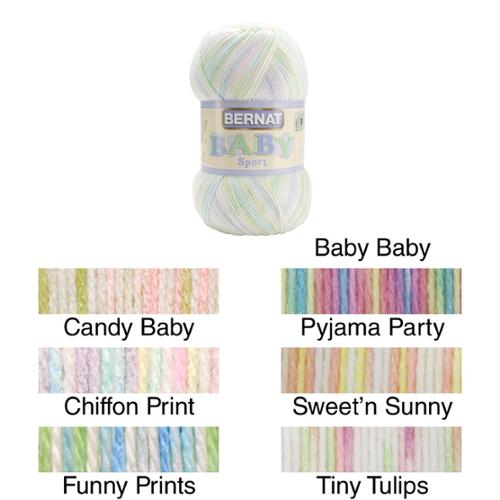 Spinrite Bernat Big Ball Baby Sport Yarn