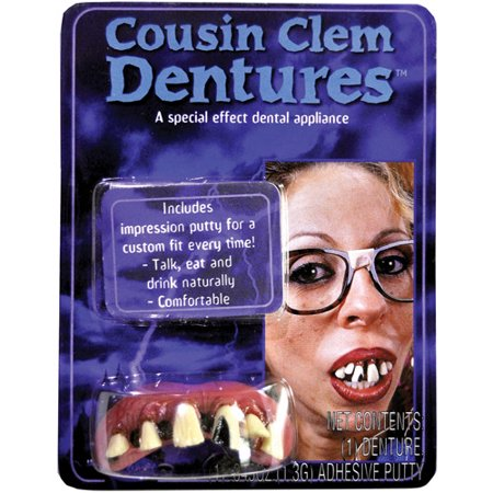Big Bubba Clem Teeth Halloween Accessory](Halloween Donuts With Teeth)