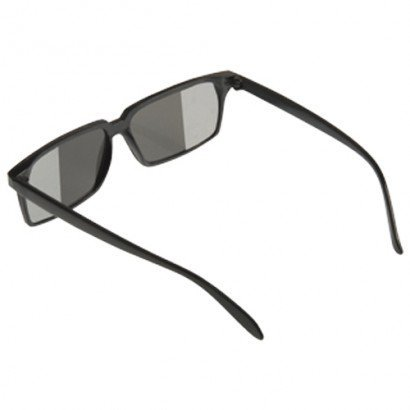 Black Secret Rear View Spy Glasses Mirror Sunglasses