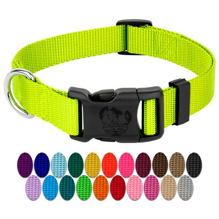 (Country Brook Design® Deluxe Nylon Dog Collars-Various Colors & Sizes Available)