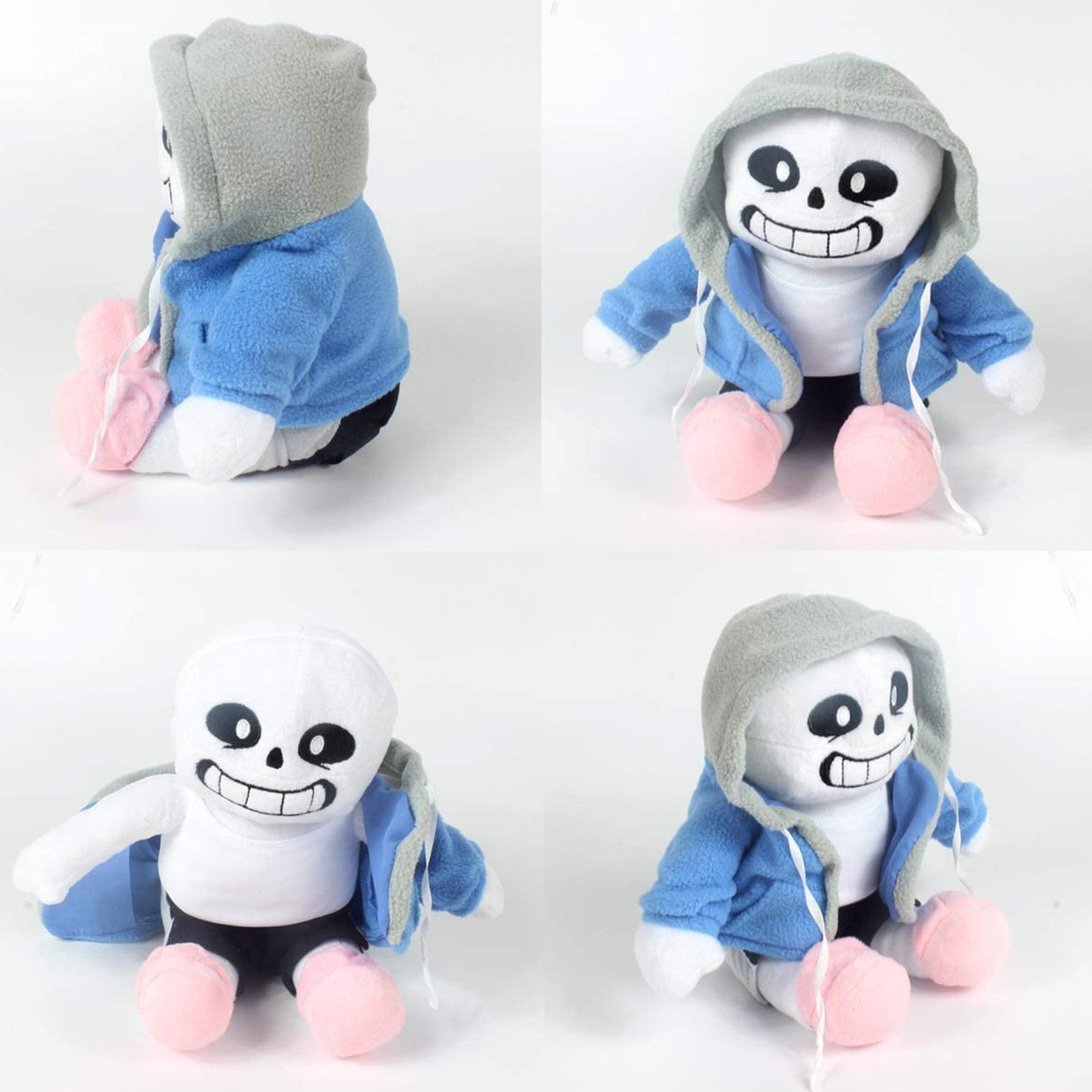 Undertale Sans Flower Plush Stuffed Doll Hugger Cushion Cosplay Kids Toy Gift