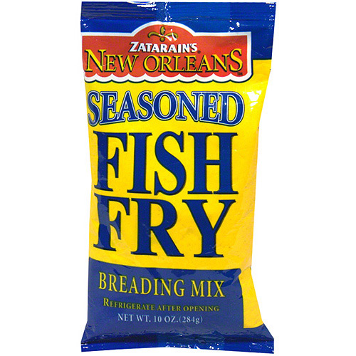 Zatarain's Seasoned Fish Fry Breading Mix, 10 oz (Pack of 12)