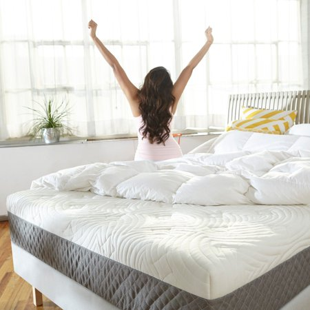 Sleep Innovations Shea 10 In Memory Foam Mattress Walmartcom