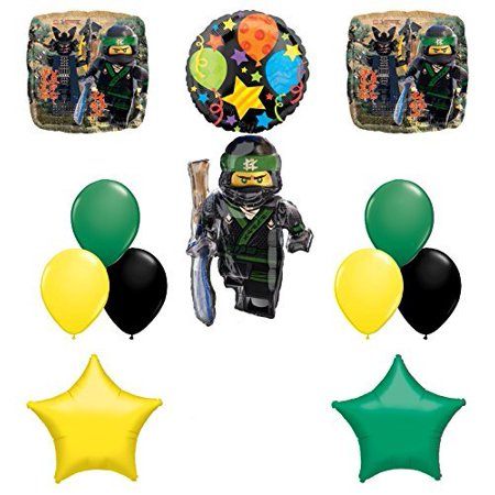 The Ultimate Lego Ninjago Birthday Party Supplies and Balloon Decorations