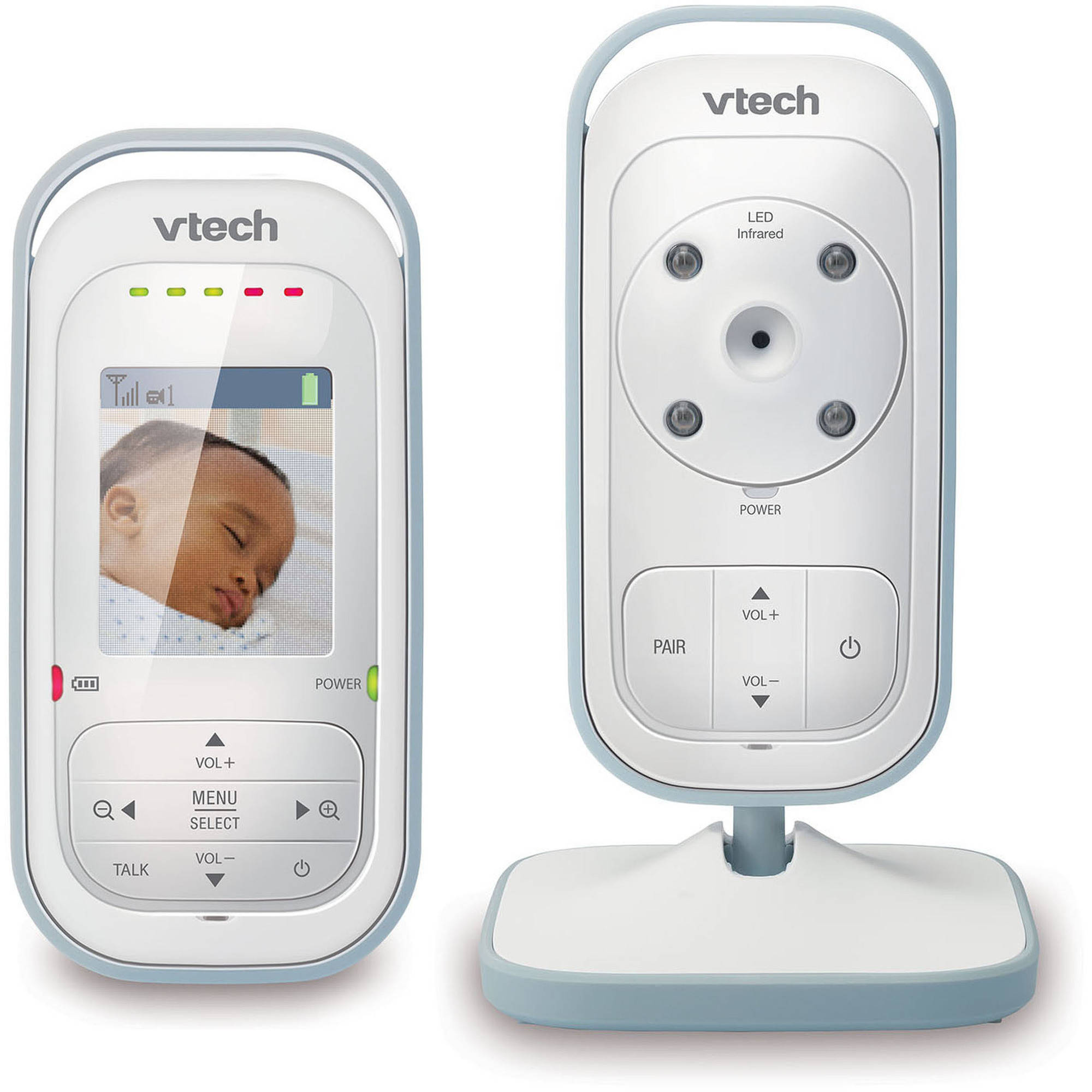 VTech VM311, Expandable Digital Video Baby Monitor with Full-Color and Automatic Night Vision