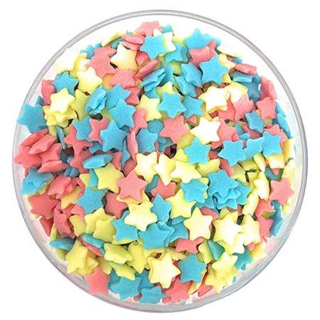 Ultimate Baker Sprinkles Vivid Star (1x2Lb Bag) - Star Sprinkles