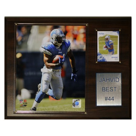 C&I Collectables NFL 12x15 Jahvid Best Detroit Lions Player