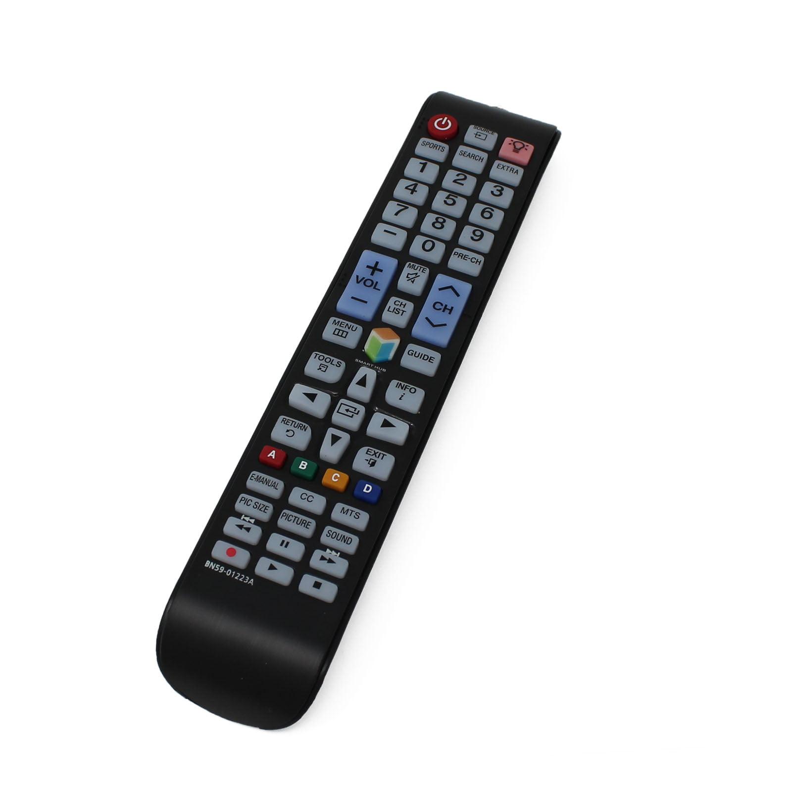 2 Pack Replacement Samsung BN59-01223A TV Remote Control for Samsung UN75JU650D Television - image 2 de 4