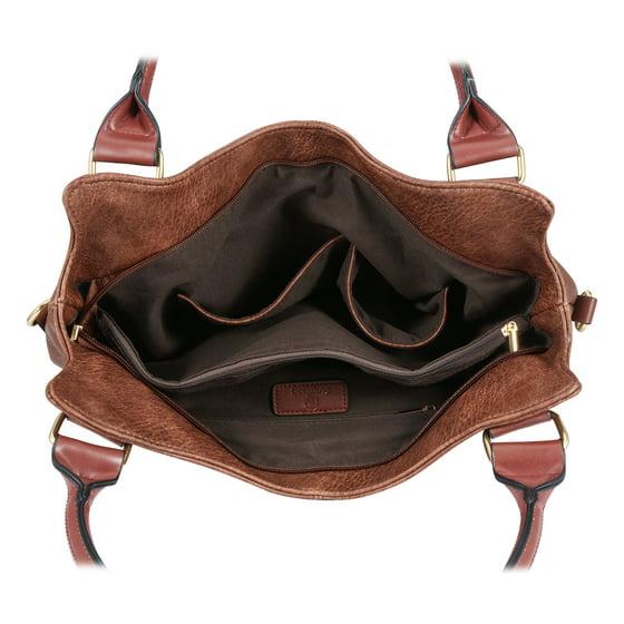 e776714d6 Plambag - Plambag Women Faux Leather Hobo Handbag Large Tote Purse -  Walmart.com