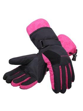 cc20ac0dd Free shipping. Product Image Women Thinsulate Lining Touchscreen Ski Gloves,  Black w/ Pink, Medium