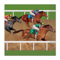 Derby Days Lunch Napkins (16 Count) - Party Supplies