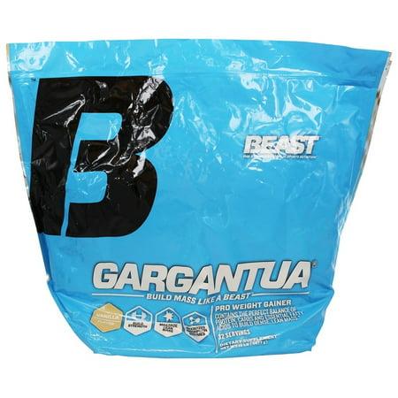 Beast Sports Nutrition - Gargantua Pro Gainer Vanille Poids - 10 lbs.
