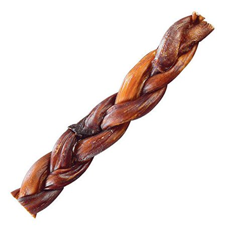 Natural Dental Chews - Braided Beef Bully Sticks Dog Treats Natural Smoked Lasting Dental Chews 5