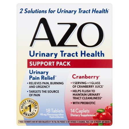 Azo Urinary Tract Health Support Pack, 32 count