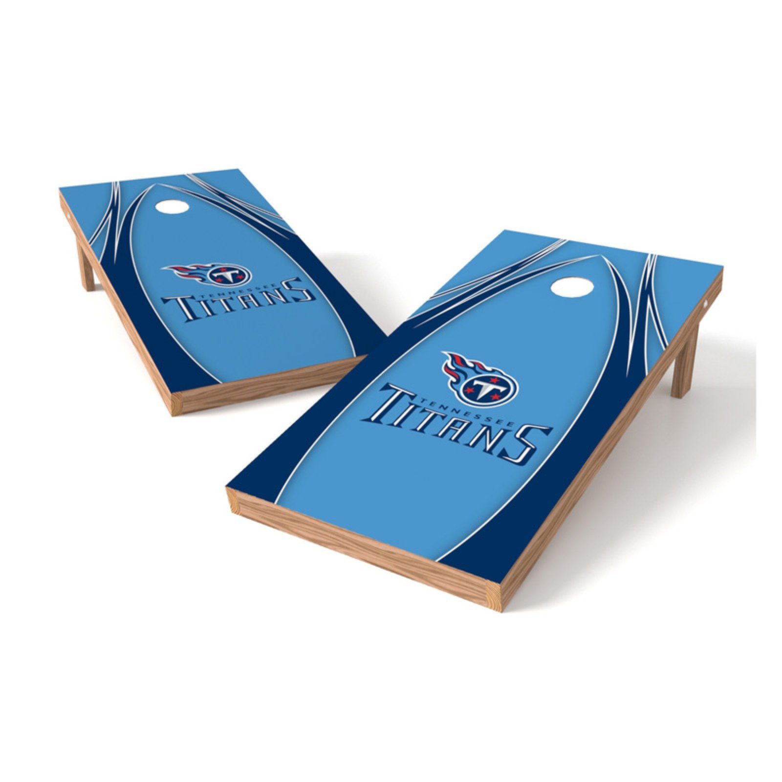 TTXL Shield V Logo NFL 2x4 Bean Bag Toss