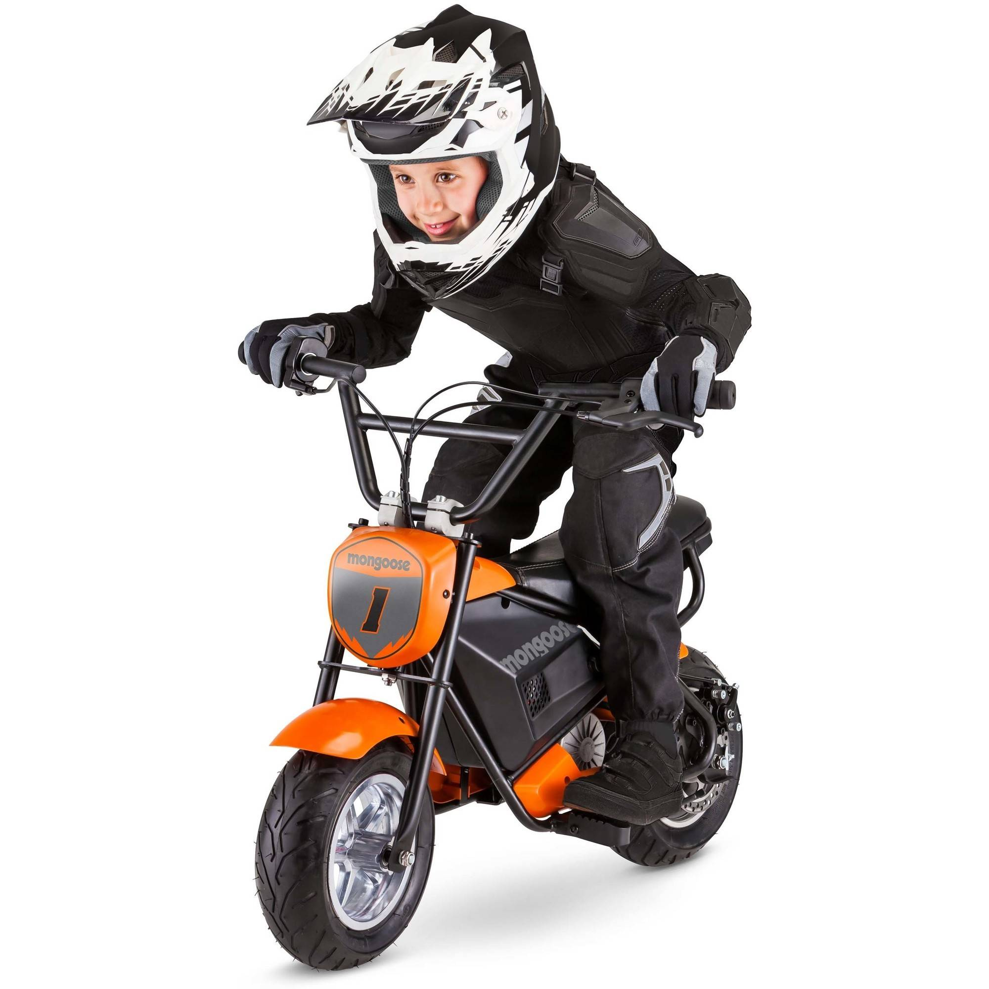Mongoose 24V Mini Bike, Orange   Walmart.com