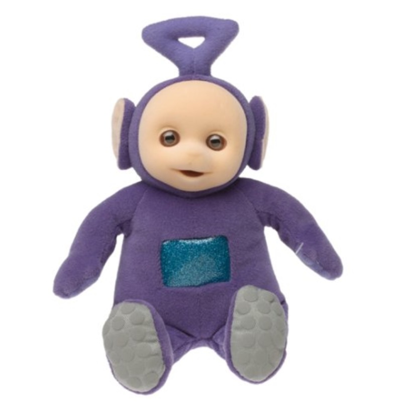Eden Organic Teletubbies Beanbag Purple Tinky Winky by