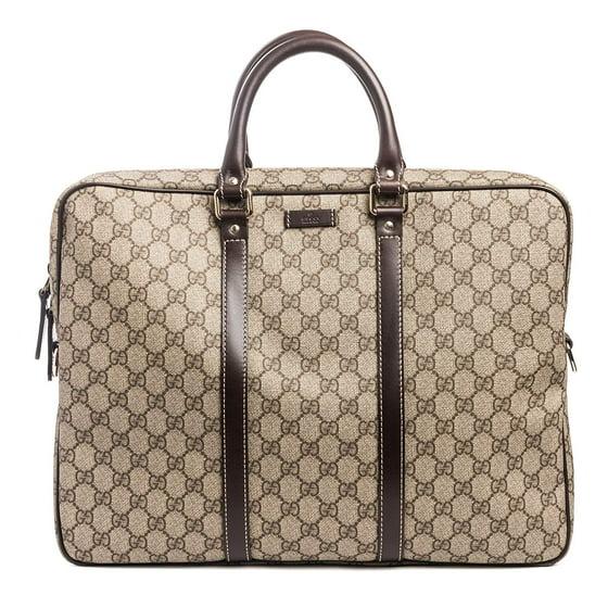 5668906ce50 Gucci - Gucci Flight bag Supreme GG Canvas Beige Ebony Brown Messenger Bag  New - Walmart.com
