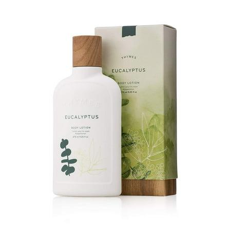 Thymes - Eucalyptus Body Lotion - With Moisturizing Shea Butter and Rejuvenating Eucalyptus Oil & Aloe Vera - 9.25