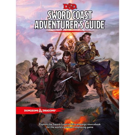 Dungeons & Dragons: Sword Coast Adventurer's Guide (Hardcover)