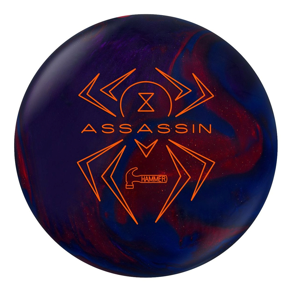 Hammer Black Widow Assassin Bowling Ball (15lbs) by Hammer Bowling Products