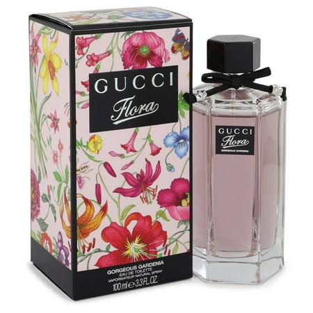 [ITO SHOP] G U C C I_FLORA Gorgeous Gardenia Eau De Toilette Spray 3.3 OZ.