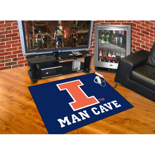 FANMATS NCAA University of Illinois Man Cave All-Star