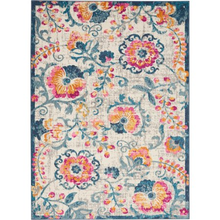 Nourison Passion All-over design Ivory Area Rug