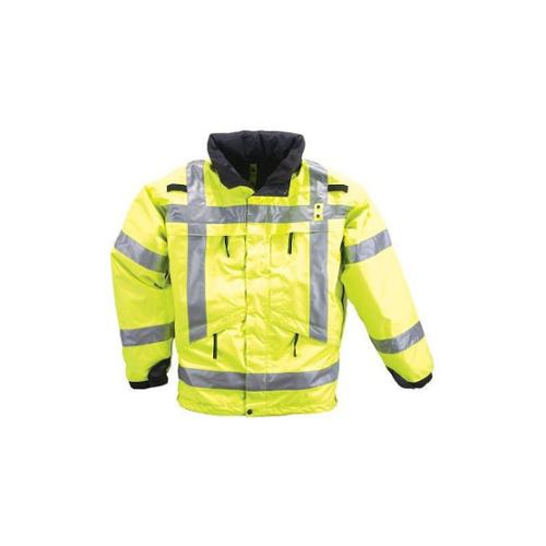 5.11 INC 3-in-1 Reversible High-Vis Parka, High-Vis Yellow
