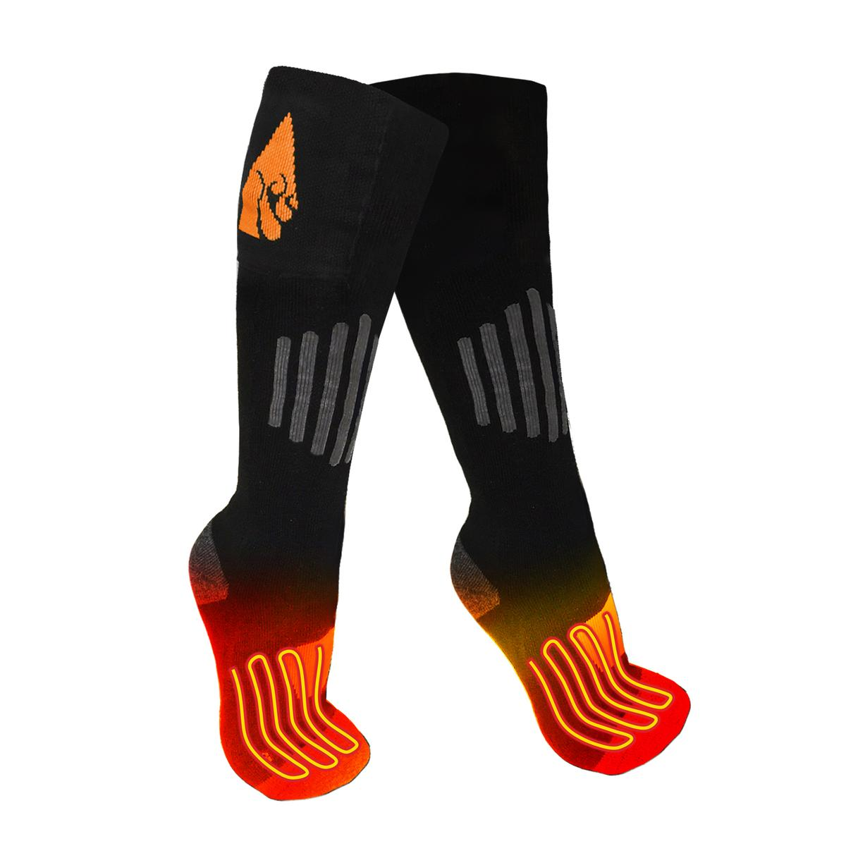 ActionHeat AA Battery Heated Socks Wool by Heated Socks